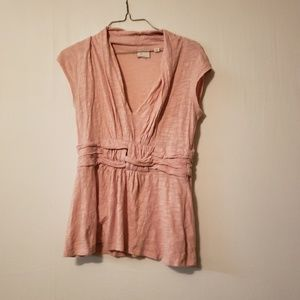Postmark anthropologie baby Pink Blouse